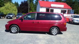 Used 2003 Honda Odyssey EX-L for sale in Parksville, BC