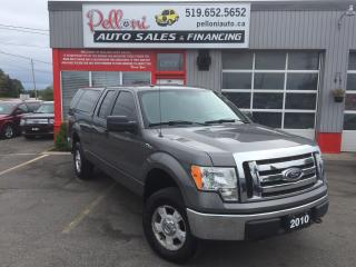 Used 2010 Ford F-150 XLT|4X4|SUPERCAB|LEER TOPPER for sale in London, ON