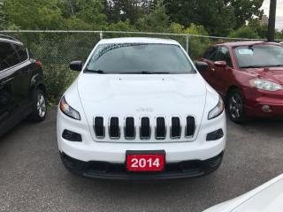 Used 2014 Jeep Cherokee Sport ONTARIO CAR.. NO ACCIDENTS..BACKUP CAMERA for sale in Brampton, ON