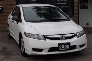 Used 2009 Honda Civic DX-G *ALLOYS, KEYLESS, CERTIFIED* for sale in Scarborough, ON