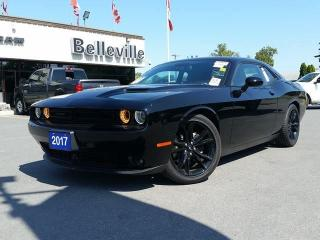 Used 2017 Dodge Challenger SXT Plus-Sunroof-Blacktop Edition-Blind Spot and C for sale in Belleville, ON