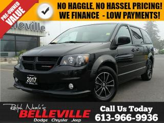 Used 2017 Dodge Grand Caravan SXT Premium Plus-DVD-NAV-Power Sliding Doors/Liftg for sale in Belleville, ON