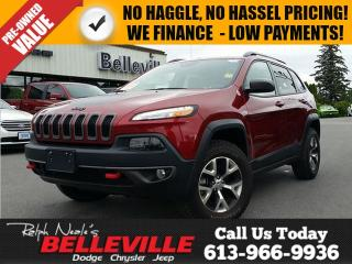 Used 2017 Jeep Cherokee Trailhawk-Power Liftgate-Heated Seats/Steering Whe for sale in Belleville, ON