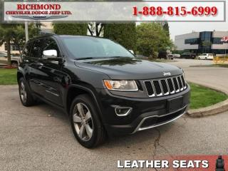 Used 2016 Jeep Grand Cherokee Limited for sale in Richmond, BC