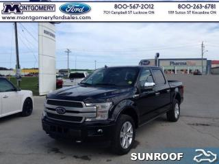 New 2018 Ford F-150 4X4 SUPER CREW-145  - Sunroof for sale in Kincardine, ON