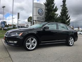 Used 2015 Volkswagen Passat Highline 2.0 TDI 6sp DSG at w/ Tip for sale in Surrey, BC