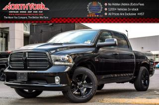 New 2017 Dodge Ram 1500 New Car Sport Night Edition|4x4|Crew|Alpine Audio|RamBox|AirSusp for sale in Thornhill, ON