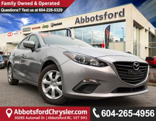 Used 2015 Mazda MAZDA3 GX ACCIDENT FREE! for sale in Abbotsford, BC