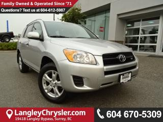 Used 2010 Toyota RAV4 Base V6 *ACCIDENT FREE * LOCAL BC SUV * for sale in Surrey, BC