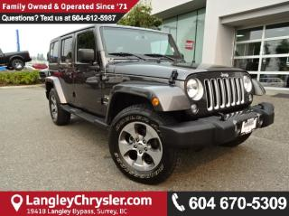 Used 2017 Jeep Wrangler Unlimited Sahara *ACCIDENT FREE*ONE OWNER*LOCAL BC JEEP* for sale in Surrey, BC