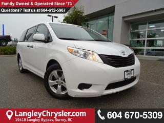 Used 2016 Toyota Sienna 7 Passenger *ACCIDENT FREE*ONE OWNER*LOCAL BC VAN* for sale in Surrey, BC