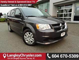 Used 2016 Dodge Grand Caravan *ACCIDENT FREE*ONE OWNER*LOCAL BC CAR* for sale in Surrey, BC