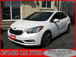 Used 2014 Kia Forte SX 2.0L NAVIGATION LEATHER SUNROOF for sale in Toronto, ON