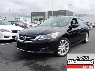 Used 2015 Honda Accord Touring! Honda Certified Extended Warranty to 120 for sale in Richmond, BC