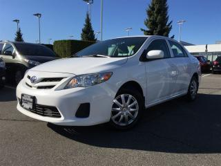 Used 2012 Toyota Corolla CE (M5) for sale in Surrey, BC