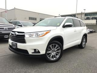 Used 2016 Toyota Highlander XLE,local,one owner for sale in Surrey, BC