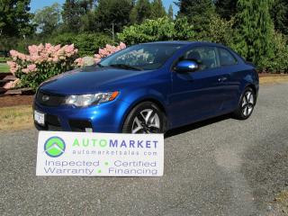 Used 2010 Kia Forte Koup SX, Leather, Moon, Auto, for sale in Surrey, BC
