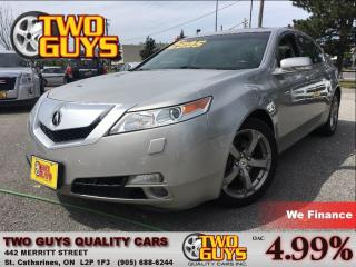 Used 2009 Acura TL AWD LEATHER MOONROOF for sale in St Catharines, ON
