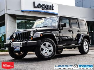 Used 2010 Jeep Wrangler Unlimited Sahara for sale in Burlington, ON