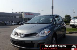 Used 2008 Nissan Versa 1.8SL |Cruise|Alloys|Bluetooth| for sale in Scarborough, ON