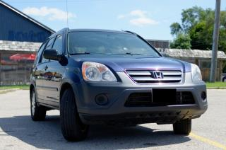 Used 2006 Honda CR-V LX for sale in Kitchener, ON