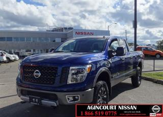 Used 2016 Nissan Titan XD PRO-4X |Navi|Leather|No Accidents| for sale in Scarborough, ON