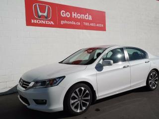 Used 2015 Honda Accord Sport, 4DOOR, AC, CRUISE, ALLOYS for sale in Edmonton, AB