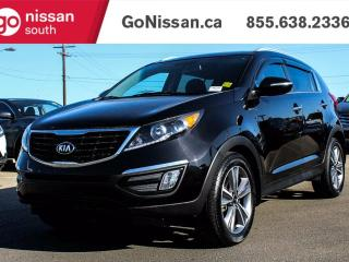 Used 2014 Kia Sportage AWD, LEATHER, NAVIGATION!! for sale in Edmonton, AB