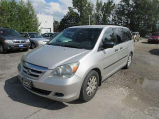 Used 2005 Honda Odyssey LX (WARRANTY INCLUDED) for sale in Brampton, ON