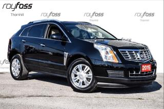 Used 2015 Cadillac SRX Luxury Awd Nav Roof Driver Aware Pkg for sale in Thornhill, ON