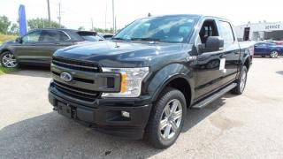 New 2018 Ford F-150 XLT, 302a, Sport Pkg, V8, Navigation for sale in Stratford, ON