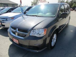 Used 2015 Dodge Grand Caravan FAMILY MOVING SXT MODEL 7 PASSENGER 3.6L - V6.. ECON-PACKAGE.. CAPTAINS.. STOW-N-GO.. REAR A/C.. U-CONNECT.. for sale in Bradford, ON