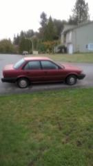 Used 1991 Toyota Corolla Red for sale in Surrey, BC