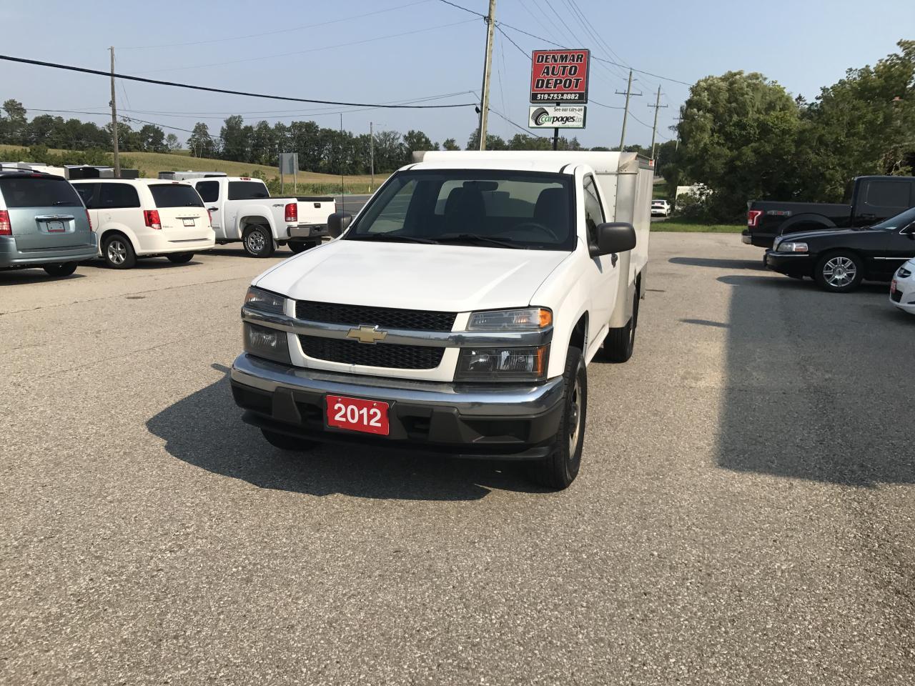 Photo of White 2012 Chevrolet Colorado