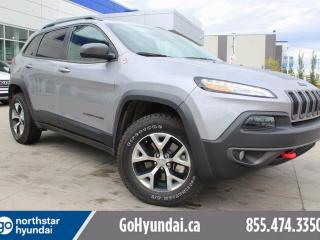 Used 2016 Jeep Cherokee V6 LEATHER SUNROOF NAV for sale in Edmonton, AB
