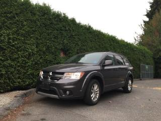 Used 2014 Dodge Journey SXT + NAV + SUNROOF + DVD + BACK-UP CAMERA + NO EXTRA DEALER FEES for sale in Surrey, BC