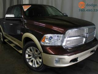 Used 2014 Dodge Ram 1500 Longhorn 4x4 Crew Cab / GPS Navigation / Sunroof / Rear Back Up Camera / Heated 1st and 2nd Row Seats for sale in Edmonton, AB