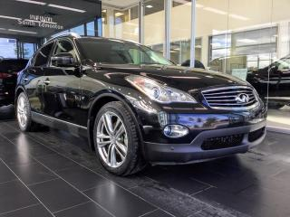 Used 2015 Infiniti QX50 Premium with Navigation, Accident Free for sale in Edmonton, AB