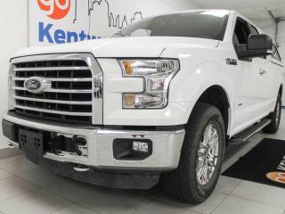 Used 2015 Ford F-150 XLT 2.7L V6 ecoboost with NAV, back up cam, heated seats and keyless entry! for sale in Edmonton, AB