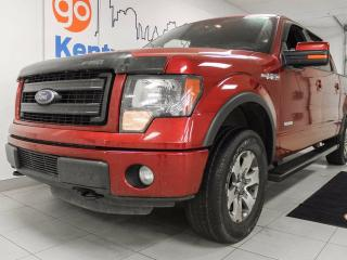 Used 2013 Ford F-150 FX4 3.5L V6 ecoboost in beautiful candy red for sale in Edmonton, AB