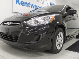 Used 2016 Hyundai Accent SE- manual, black, but look at them seats!!! woah for sale in Edmonton, AB