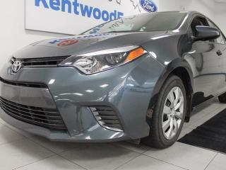 Used 2016 Toyota Corolla LE- heated comfortable seats and back up cam for sale in Edmonton, AB
