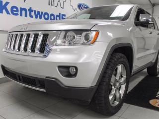 Used 2012 Jeep Grand Cherokee Overland- NAV, heated seats and steering wheel, sunroof, DVD entertainment system! It has it all! for sale in Edmonton, AB