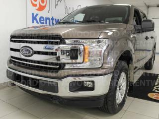 Used 2018 Ford F-150 XLT 4x4 with keypad entry and an extra seat for sale in Edmonton, AB