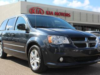 Used 2013 Dodge Grand Caravan CREW, BACKUP CAM, REAR CLIMATE CONTROL, CRUISE CONTROL, USB / AUX for sale in Edmonton, AB