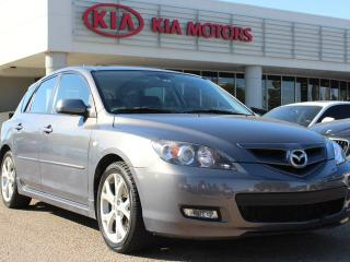 Used 2009 Mazda MAZDA3 GS, HEATED SEATS, SUNROOF, CRUISE CONTROL, AUX / USB for sale in Edmonton, AB