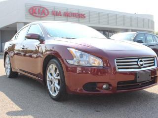 Used 2012 Nissan Maxima SV, SUNROOF, HEATED WHEEL, HEATED SEATS, LEATHER, A/C for sale in Edmonton, AB