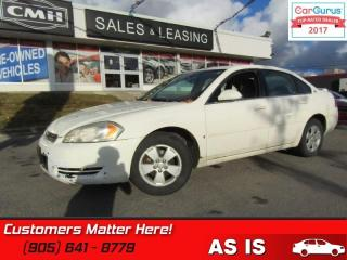 Used 2006 Chevrolet Impala LT  (AS IS - UNCERTIFIED AS TRADED IN) for sale in St Catharines, ON
