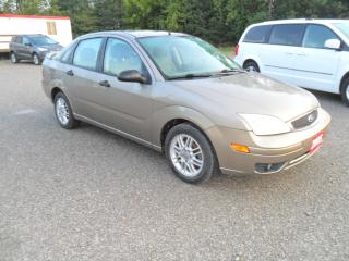 Used 2005 Ford Focus SE ZX4 for sale in Beaverton, ON