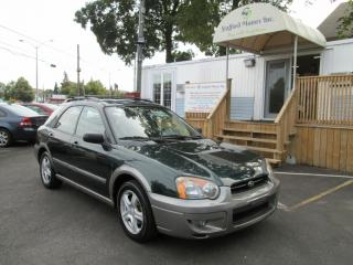 Used 2004 Subaru Impreza Outback Sport-LOW K'S ONLY 169405 VERY CLEAN for sale in Scarborough, ON